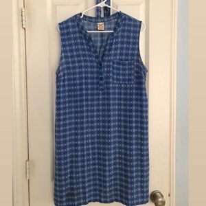 FADED GLORY BLUE DRESS